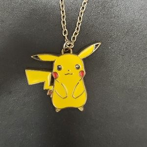 2014 pokemon Pikachu pendant necklace